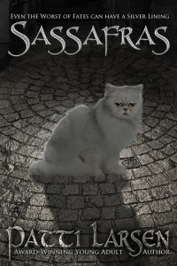 Cover for Sassafras, A Hayle Coven Universe Novel, Patti Larsen