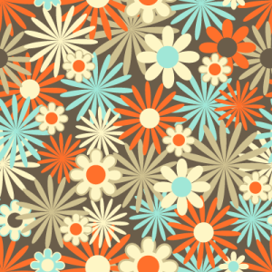 vector artwork floral background