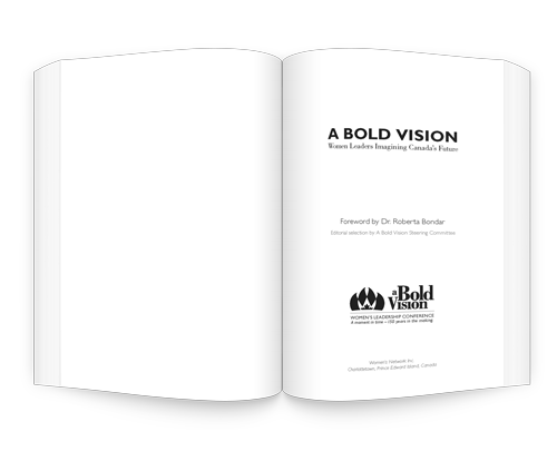A Bold Vision title page