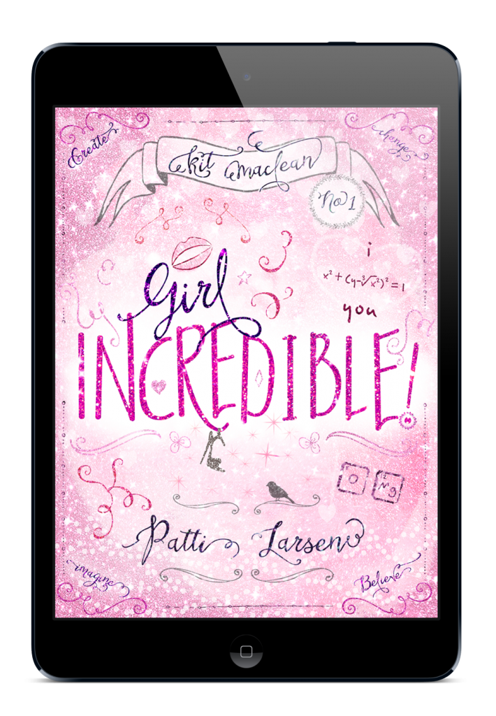 Girl Incredible cover ebook mockup