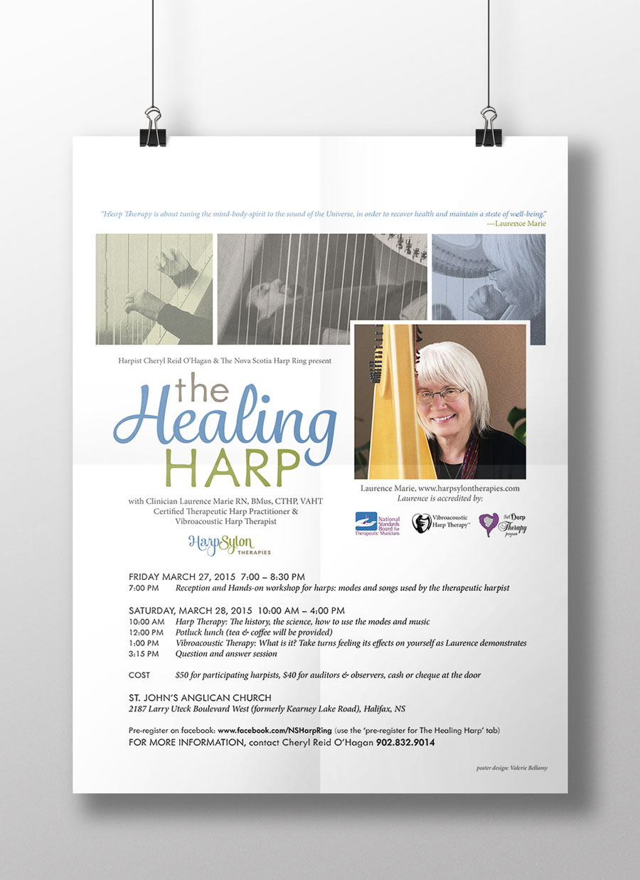 Healing Harp Conference Poster
